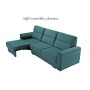 Sofá cama modelo Convertible 3 asientos