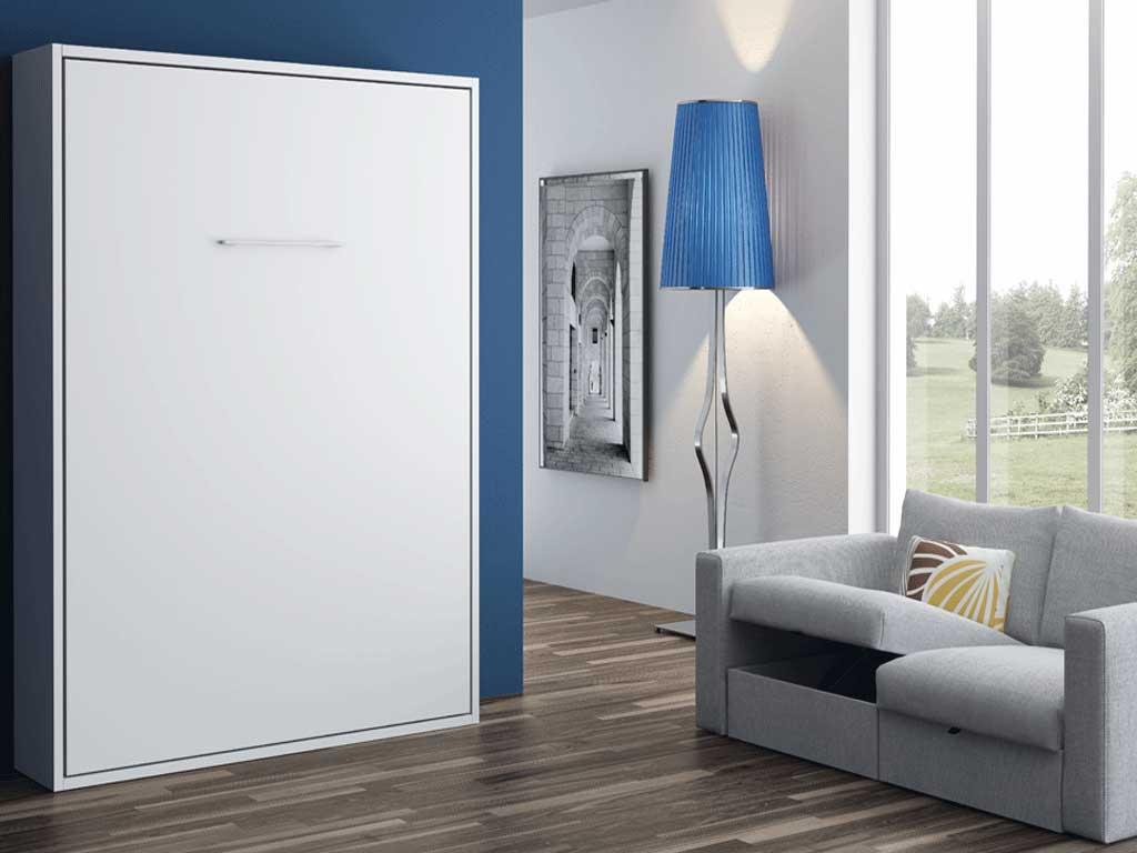 Cama abatible vertical par s muebles for Mueble cama abatible vertical matrimonio