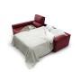 Chaise-longue con cama sistema italiano