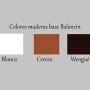 colores maderas balancines