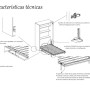 Características técnicas de las camas abatibles