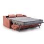 Sofá cama modelo Roma abierto.
