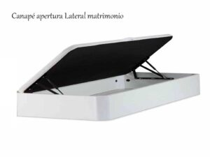 Canapé abatible curvo apertura lateral.TRANSPORTE GRATUITO
