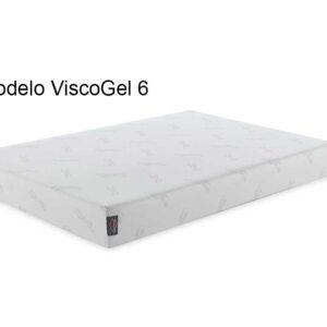 Colchón de viscolástica,modelo viscogel 6