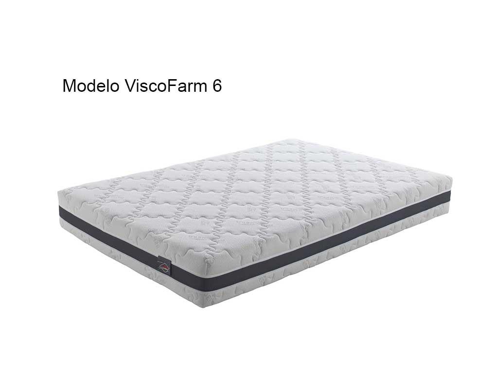 Colchón de viscolástica,modelo viscofarm 6