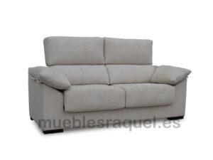 sofa tiana con deslizantes y reclinable