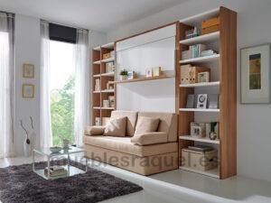 cama abatible modelo venecia con sofa ot1