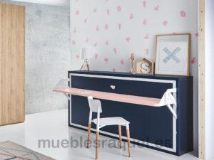 cama abatible con mesa ot7